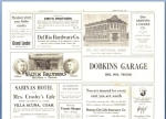 1925 Del Rio Newspaper Advertisement