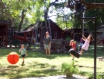 Tire Swing and plenty of space to run and play